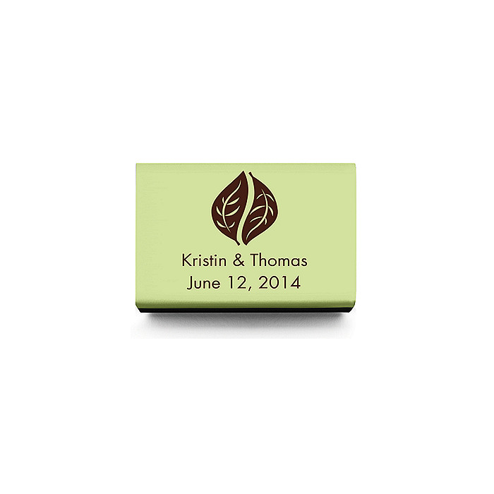 Personalized Matchboxes - Leaves