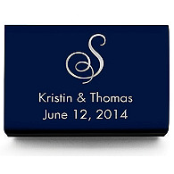 Personalized Matchboxes - Script Monogram