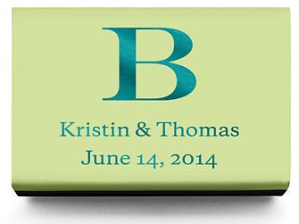 Personalized Matchboxes - Classic Monogram