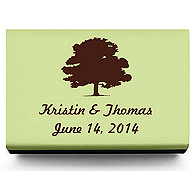 Personalized Matchboxes - Oak Tree