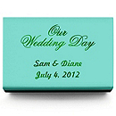 Personalized Matchboxes - Our Wedding Day