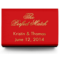 Personalized Matchboxes - The Perfect Match Classic