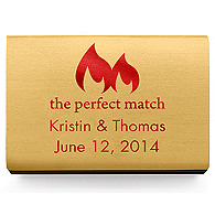 Personalized Matchboxes - The Perfect Match Flame