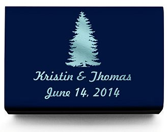 Personalized Matchboxes - Pine Tree