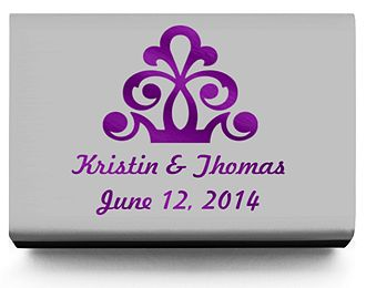 Personalized Matchboxes - Regal