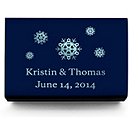 Personalized Matchboxes - Snowflakes