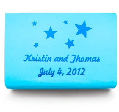Personalized Matchboxes - Stars