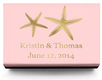 Personalized Matchboxes - Starfish
