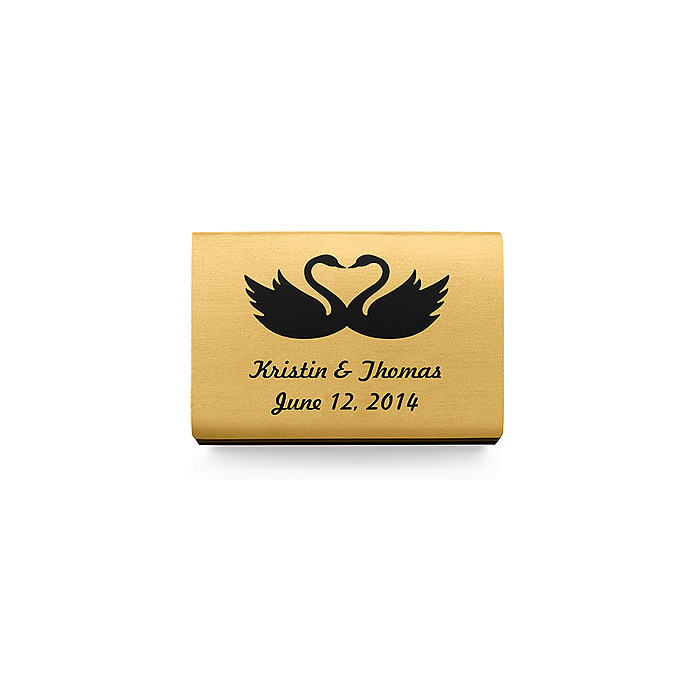 Personalized Matchboxes - Swans