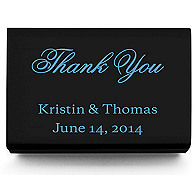 Personalized Matchboxes - Thank You Classic