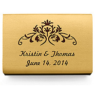 Personalized Matchboxes - Vintage Floral