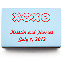 Personalized Matchboxes - XOXO