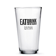 Personalized Pint Glass