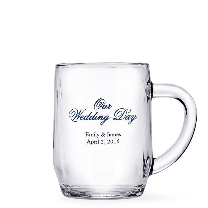 Personalized Glass Mug