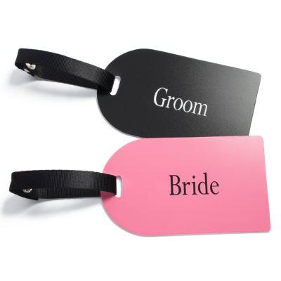 Bride & Groom Luggage Tags