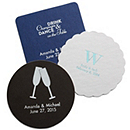 Deluxe Personalized Wedding Coasters