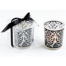 Damask Tea Light Holder Favors