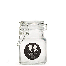 Personalized Apothecary Jar Favors