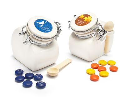 Personalized Ceramic Jar Favors