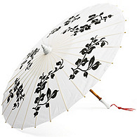 Black and White Parasol
