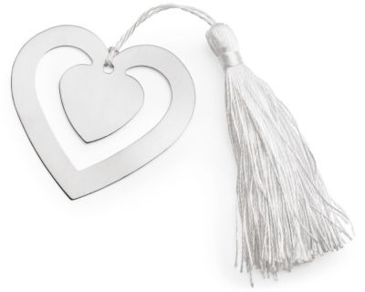 Love Story Heart Bookmark Favor