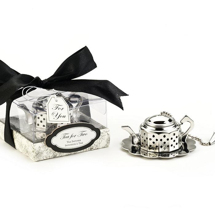 Tea For Two Teapot Tea Infuser Favor