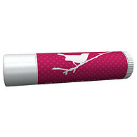 Personalized Lip Balm Tube Favors - Bird (Punch)
