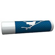Personalized Lip Balm Tube Favors - Bird (Navy)