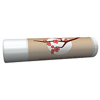 Personalized Lip Balm Tube Favors - Cherry Blossom