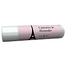 Personalized Lip Balm Tube Favors - Paris
