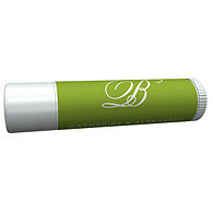 Personalized Lip Balm Tube Favors - Initial (Grass)