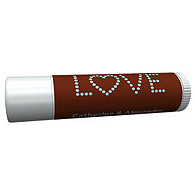 Personalized Lip Balm Tube Favors - Love (Blue/Brown)