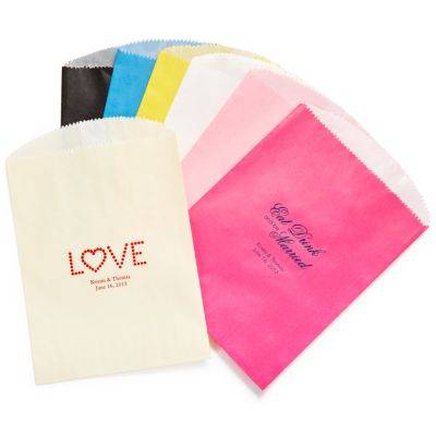 Personalized Gourmet Favor Bag