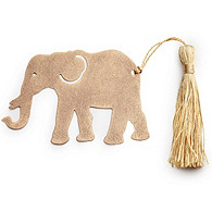 Lucky Elephant Bookmark Favor