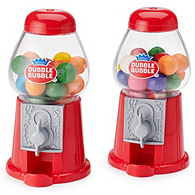 Dubble Bubble Gumball Machine Favors - Red