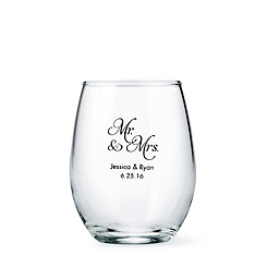Personalized Stemless Wine Glass - Small