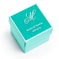 Personalized Square Favor Labels