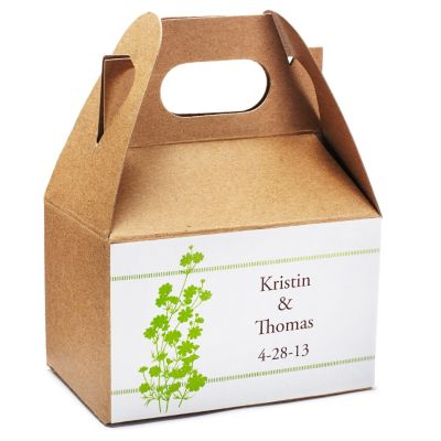 Personalized Rectangular Favor Labels - Large