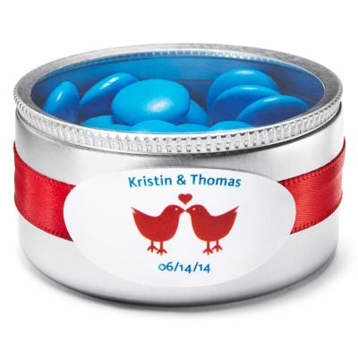 Personalized Mini Oval Favor Labels