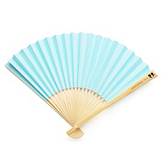 Paper Fan with Personalized Label