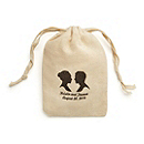 Personalized Cotton Favor Bags