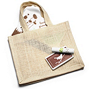 Jute Welcome Favor Bag