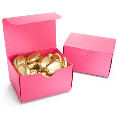 Rectangular Favor Box - Fuchsia