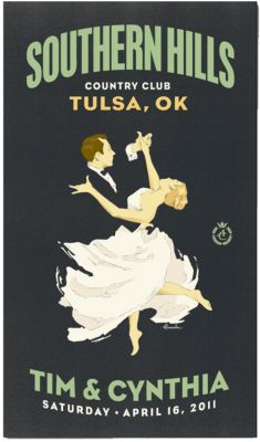 Personalized Save the Date Magnets - First Dance