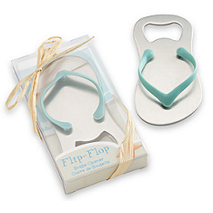 Pop the Top Flip-Flop Bottle Opener Favor