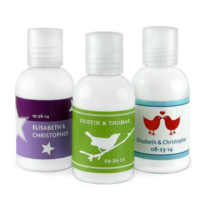 Personalized Hand Lotion Favor