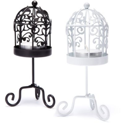 Birdcage Tea Light Holder Favor