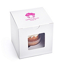 Personalized Cupcake Favor Box