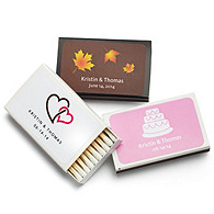 Personalized Matchboxes with Label