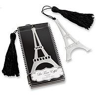 Eiffel Tower Bookmark Favor
